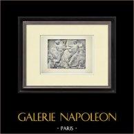 Partenone - Fregio ionico della Cella - Lato sud - Pl. 99