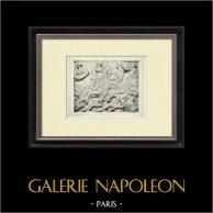 Partenone - Fregio ionico della Cella - Lato nord - Pl. 107
