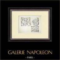 Partenone - Fregio ionico della Cella - Lato nord - Pl. 110