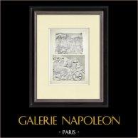 Partenone - Fregio ionico della Cella - Lato nord - Pl. 113