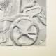 Einzelheiten 06   Parthenon - Ionenfries von Cella - Nord Seite - Pl. 113