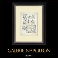 Partenone - Fregio ionico della Cella - Lato nord - Pl. 114
