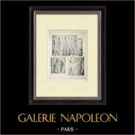Partenone - Fregio ionico della Cella - Lato nord - Pl. 116