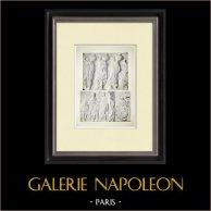Partenone - Fregio ionico della Cella - Lato nord - Pl. 117