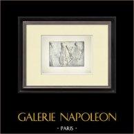Partenone - Fregio ionico della Cella - Lato nord - Pl. 118