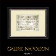 Partenone - Fregio ionico della Cella - Lato nord - Pl. 101-102