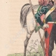 DÉTAILS 02   Chasseur à cheval - Escadron de lanciers - Cavalerie (1825)