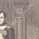 DÉTAILS 03   Napoléon dans son cabinet de travail (Jacques Louis David 1812)