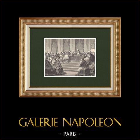 Raad van Parijs - Napoleon I - Paus Pius VII (1811) |