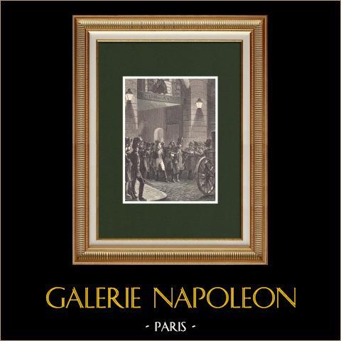 Zamach Stanu Maleta Przeciwko Napoleonowi I - Paryż (1812) |
