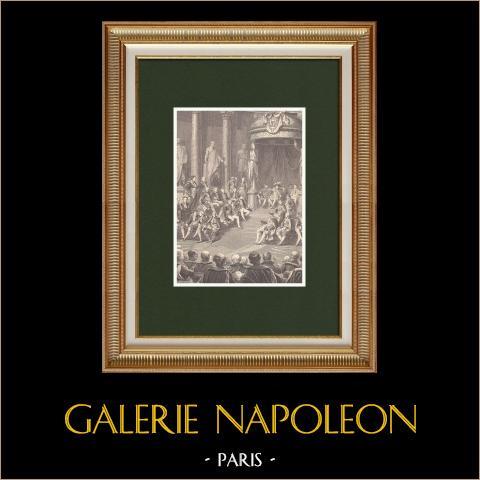 Napoleon I w Senacie - Nowe Królestwo Włoch (1805) |