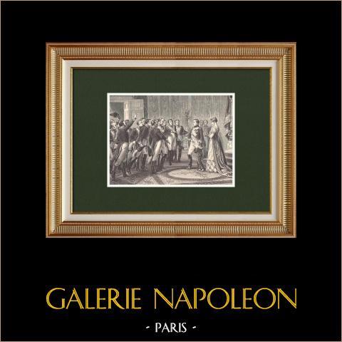 Napoleon Powierza Swojego Syna Gwardii Narodowej (1814) |