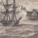 DÉTAILS 04   Napoléon quitte l'Ile d'Elbe (25 Février 1815)