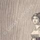 DÉTAILS 01 | Portrait de Caroline Bonaparte, soeur de Napoléon Ier, avec sa fille Letizia (1782-1839)