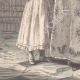 DÉTAILS 05 | Portrait de Caroline Bonaparte, soeur de Napoléon Ier, avec sa fille Letizia (1782-1839)