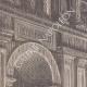 DÉTAILS 01 | Invasion du Palais du Prince de la Paix  - Palais Barberini - Rome