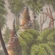DETAILS 03 | Ruined towers and pagodas in the forest - Vientiane (Laos)