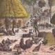 DÉTAILS 05   Village du peuple Diour en hiver - Bahr al-Ghazal (Soudan du Sud)