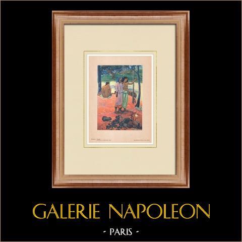 Post-impressionisme - de Roep - Marquesas-eilanden (Paul Gauguin) |