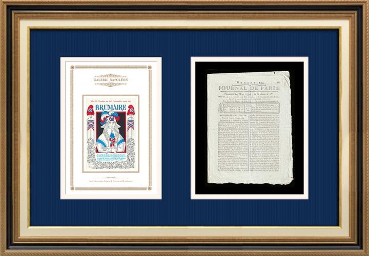 Revolução Francesa - Journal de Paris - Sexta-feira, dia 14 de Maio de 1790 | Calendário Revolucionário Francês - Brumaire