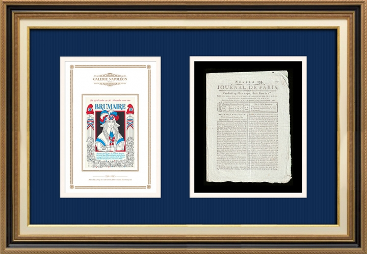 French Revolution - Journal de Paris - Friday, May 14, 1790 | French Republican Calendar - Brumaire