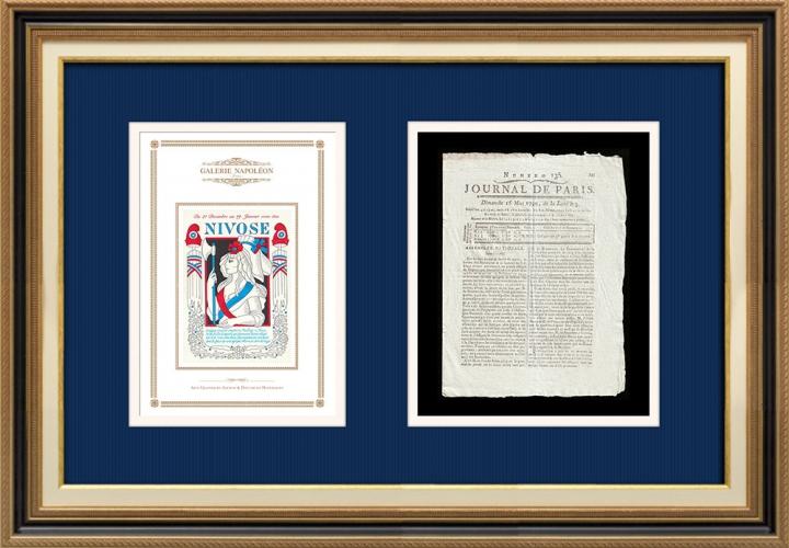 Revolução Francesa - Journal de Paris - Domingo, dia 16 de Maio de 1790 | Calendário Revolucionário Francês - Nivôse