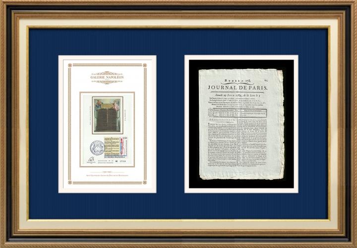 Revolução Francesa - Journal de Paris - Sábado, dia 27 de Junho de 1789 | Declaração dos Direitos do Homem e do Cidadão (1789)
