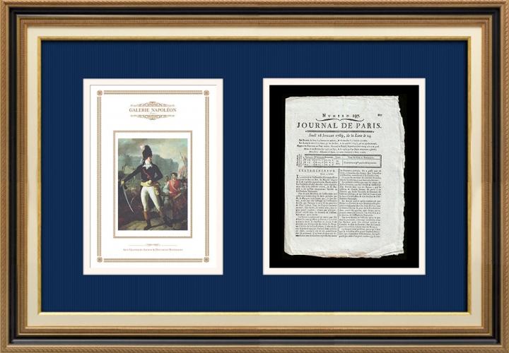 French Revolution - Journal de Paris - Thursday, July 16, 1789 | A Winner of the Bastille (Charles Thevenin)