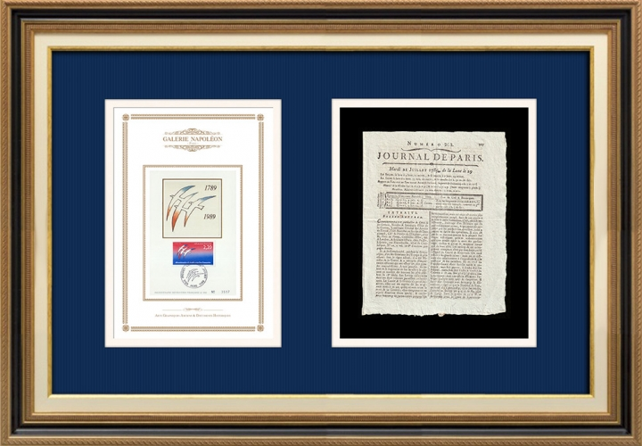 Revolução Francesa - Journal de Paris - Terça-feira, dia 21 de Julho de 1789 | Bicentenário da Revolução Francesa