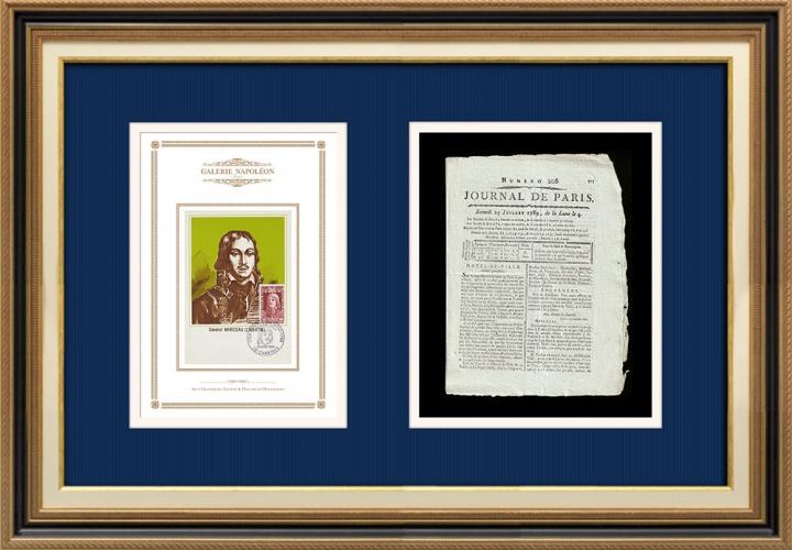 Revolução Francesa - Journal de Paris - Sábado, dia 25 de Julho de 1789 | Retrato de François Séverin Marceau (1769-1796)