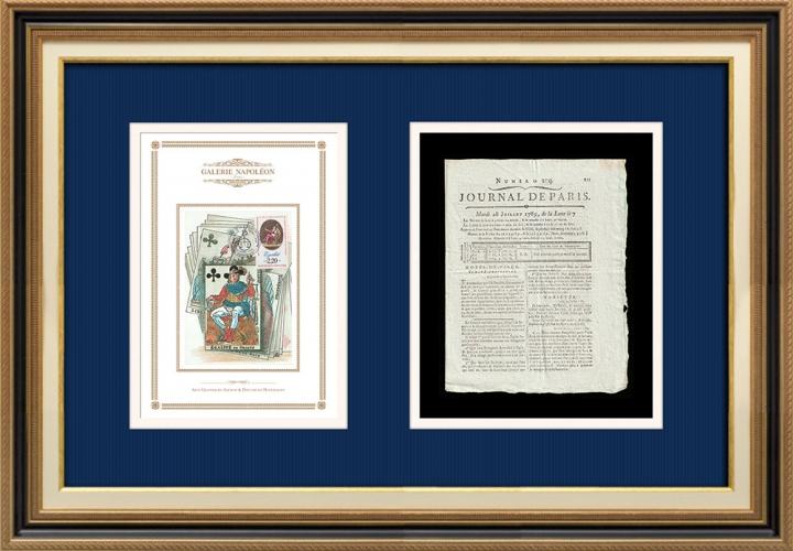 Revolução Francesa - Journal de Paris - Terça-feira, dia 28 de Julho de 1789 | Lema da Revolução Francesa - Igualdade