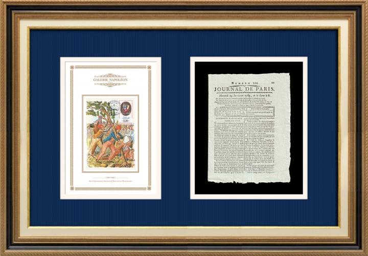 French Revolution - Journal de Paris - Wednesday, July 29, 1789 | Tree of Freedom (Jean-Baptiste Lesueur)