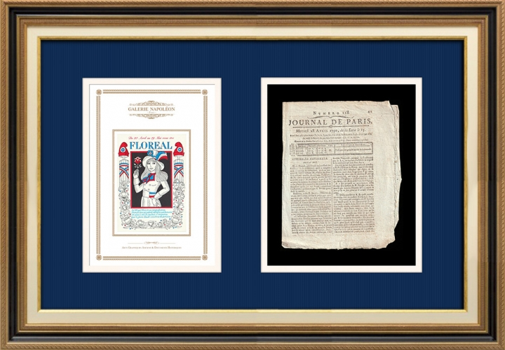 French Revolution - Journal de Paris - Wednesday, April 28, 1790 | French Republican Calendar - Floréal