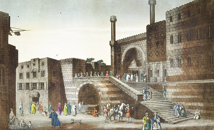 Optical view of Cairo - Mosque al-Ghawri - Fountain of the Lovers (Egypt)