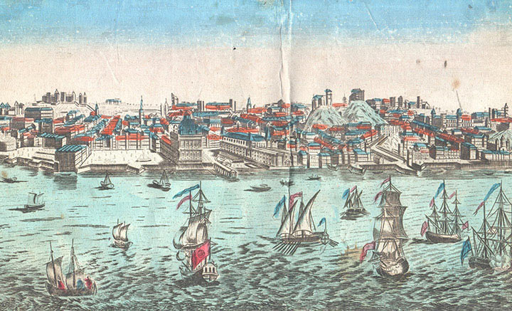 Optical view of Lisbon (Portugal)