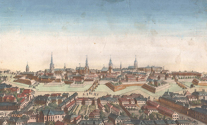 Optical view of Berlin (Germany)