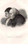 Portraits of Nicolas Simon (1741-1822 ) and Jean Origet (1749-1828)