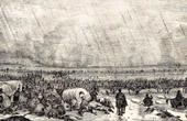 Campaign in Russia - Napoleon's Crossing of the Berezina (1812) - Napoleonic Wars