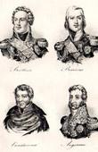 Napoleon - Marshal of the Empire - Louis-Alexandre Berthier - Jean-Baptiste Bessi�res - Dominique-Joseph Ren� Vandamme - Charles Pierre Fran�ois Augereau