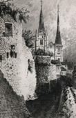 Castle and Church of Dourdan - Ch�teau de Dourdan (France)