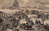 Napoleonic Wars - Napoleon Crossing the Alps through the Saint Bernard Pass