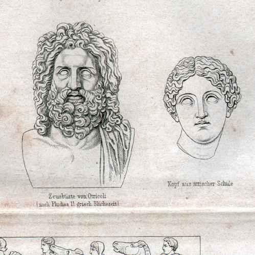 Escultura Griega Zeus Escultura Griega Antigua