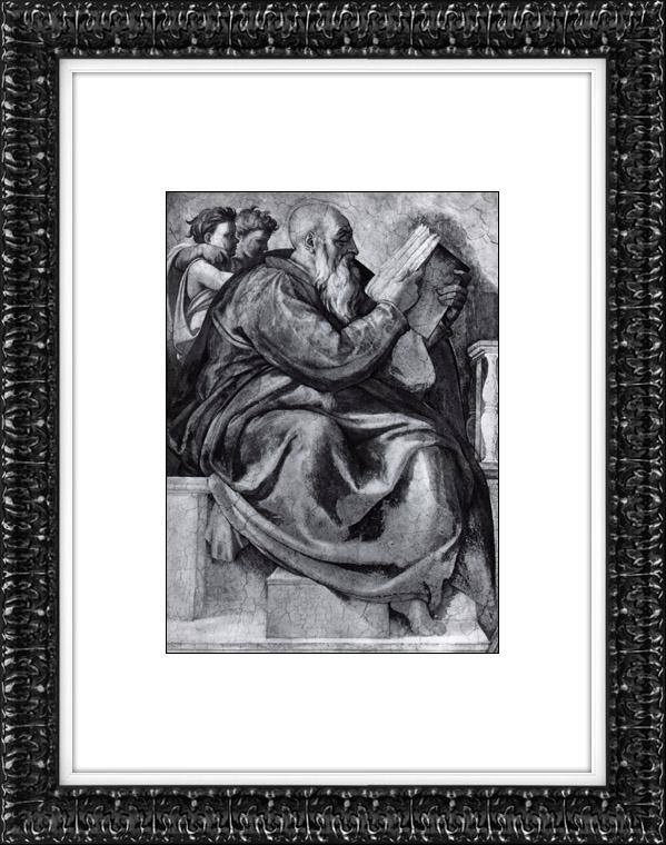 Gravures Anciennes & Dessins | Chapelle Sixtine - Ancien Testament - Zacharie (Michel-Ange) | Héliogravure | 1930