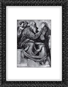 Sistine Chapel - Old Testament - Zechariah (Michelangelo)