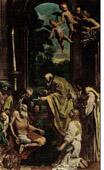 The Last Communion of St. Jerome (Domenico Zampieri or Domenichino)
