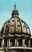 View of Rome - Italy - Dome of the Basilica of Saint Peter - St. Peter's Basilica - Vatican City