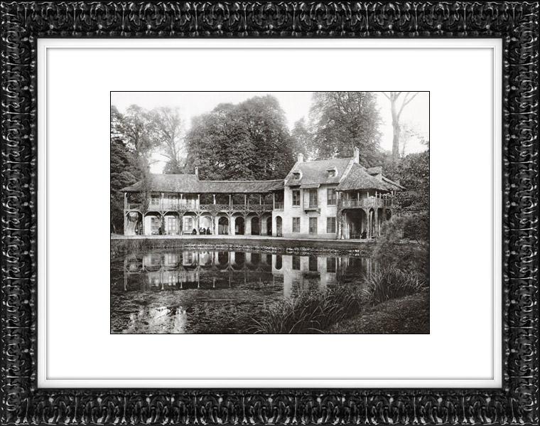 Gravures Anciennes & Dessins | Château de Versailles - Hameau de la Reine - Petit Trianon | Héliogravure | 1920