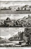 Fischen - Fischerboot - 1793 - Plate 113 - Sammlung Diderots Enzyklop�die
