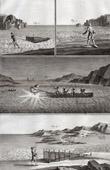 Fischen - Aal-Fischerei - 1793 - IN-FOLIO - Plate 100 - Sammlung Diderots Enzyklop�die