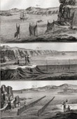 Fischen - Fischerei der V�gel - 1793 - IN-FOLIO - Plate 99 - Sammlung Diderots Enzyklop�die